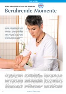 Wellness in der Fußpflege: Fuß- und Beinmassagen - Berührende Momente
