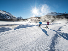 Die Top 5 Langlaufgebiete der Schweiz