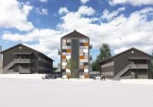 Första spadtaget för Studentlägenheter i Värnamo