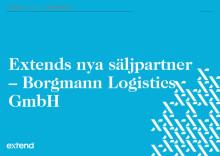 Extend skriver avtal med Borgmann Logistics GmbH för att öka tillväxten på den europeiska marknaden