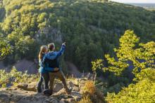 5000 begejstrede vandrere fra hele verden indtager Sverige og Danmark