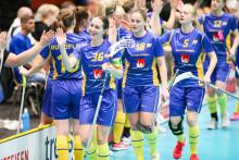 Storseger för U19-damlandslaget i VM-premiären - Johansson gjorde åtta assister