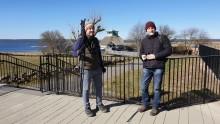 Fler brittiska journalister besöker Hornborgasjön
