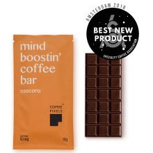Coffee Pixel Cascara ® utsedd till bästa nya produkt i kategorin mat på den globala kaffemässan World of Coffee i Amsterdam 2018.