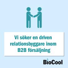 Vi söker en driven relationsbyggare inom B2B försäljning