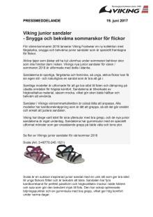 PR - Girls sandals