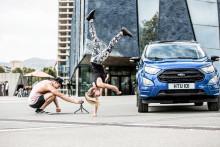 Ford Ecosport bemutató - 26 sportoló akciója egyetlen lenyűgöző videóban