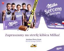 Strefa Kibica Milka na stoku w Istebnej – baw się z fioletową krową i bądź Sercem z Naszymi Skoczkami!