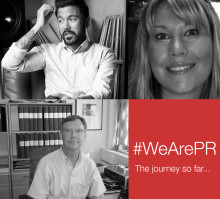 #WeArePR: The journey so far...