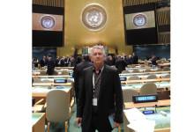 Yves Rocher och Jacques Rocher deltog i FNs klimatkonferens i New York