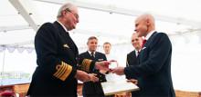 Danmarks Prins Henrik gav hedersmedalj till TDC Sveriges vd Erik Heilborn