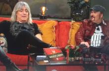 Anders Tengner och Mikkey Dee hos Malou – så äter en rockstjärna