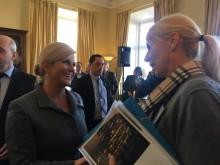 Kroatiska presidenten träffade Framtiden