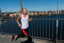 Mica springer ASICS Stockholm Marathon för första gången