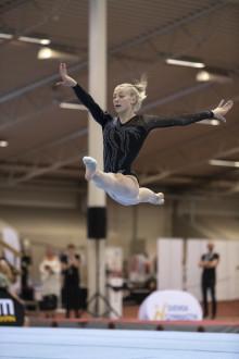 SM i kvinnlig artistisk gymnastik – grengulden till Jonna Adlerteg och Ida Staafgård