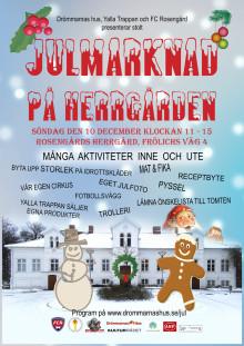Julmarknad på Herrgården