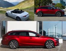 Nya pressbilar hos Mazda