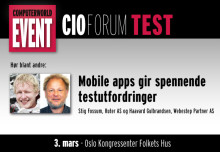 Rock Star på test til CIO Forum i Oslo 3. mars