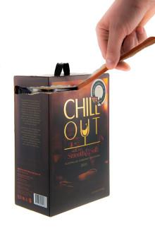 Chill Out satsar på nya smarta förpackningar: Ny funktion gör vinboxen enklare att återvinna