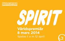 Spirit – ett unikt möte mellan två av den moderna dansens mästare