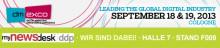 Mynewsdesk ddp auf der Dmexco 2013