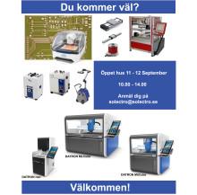 Solectro AB håller öppet hus 11 - 12 September