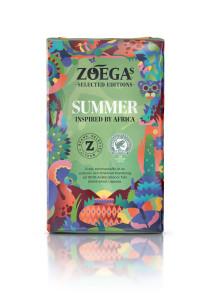 Zoégas sommarkaffe, bidrar till fler skoldagar för flickor