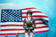 Jessica Springsteen wins Sweden H&M Grand Prix