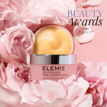 Vinnare i Swedish Beauty Awards 2019 - ELEMIS Pro-Collagen Rose Cleansing Balm