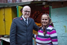 Frelsesarmeen med hjelpetiltak i Romania