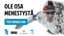 Tue Urheilijaa -hanke auttaa suomalaisurheilijoita menestykseen