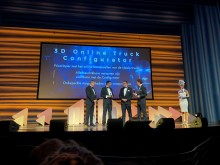 DAF Trucks voitti arvostetun Computable Award 2018 -palkinnon