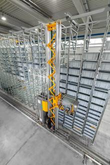 Automatiskt smådelslager för VAHLE Group i Tyskland