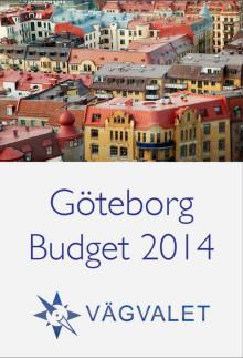 Budget 2014 för Göteborg Stad
