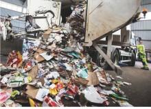 Nu uppgraderas avfallsprojektet för att passa alla