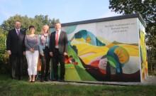 Kunst am Trafo: Bayernwerk macht Trafostation in Kumhausen zum Hingucker
