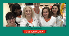 Kronans Apotek stödjer Musikhjälpen