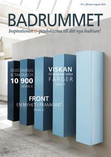 Premiär för BADRUMMET – nyheter, inspiration och erbjudanden