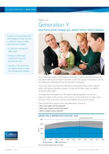 Generation Y 2 - Efterfrågan på kontorslokaler kommer att krympa