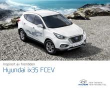 Brosjyre om Hyundais hydrogenelektriske bil ix35 Fuel Cell