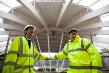 CBI Director visits new Center Parcs in Bedfordshire