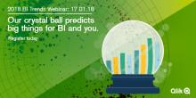 Välkommen på Qlik®-webinar om BI-trender 2018
