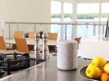Softly shaped multiroom speaker