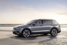 Säljstart för sjusitsiga Volkswagen Tiguan Allspace