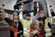 Gabriel Nyd Berg från Stockholm vann kvaltävling till Yrkes-SM i Sundsvall