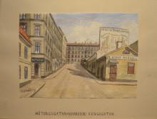 Ny utställning: Konstnären Frans Lindströms svunna Stockholm