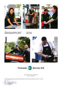 Forenede Service - Årsrapport 2016