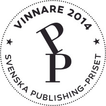 De vann Svenska Publishingpriset 2014