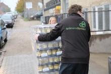 fødevareBanken modtager 90 tons survarer