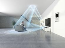Обволакивающий звук саундбара HT-ST5000 с поддержкой Dolby Atmos®